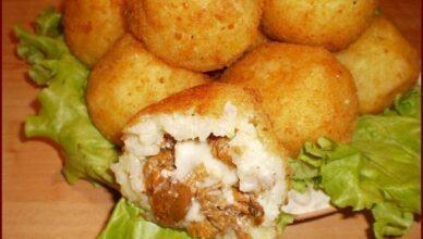 Аранчини — рисовые шарики с начинкой