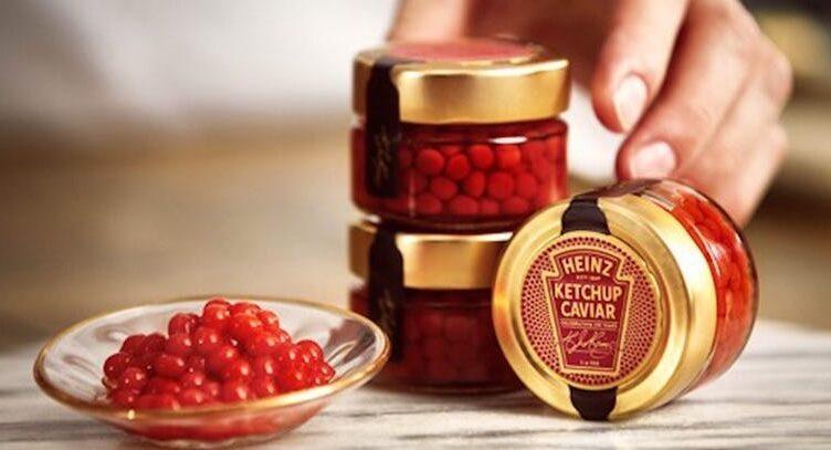Heinz выпускает новый продукт ко дню Святого Валентина: икра из кетчупа