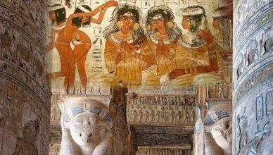 Как древние египтяне праздновали Новый год