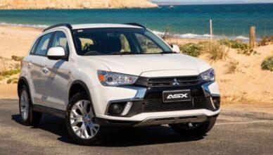 Кроссовер Mitsubishi ASX омолодили на десятом году жизни