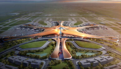 Китай снова бьет рекорды: самый большой в мире аэропорт