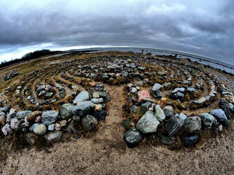 Остров каменных лабиринтов — «вавилоны» Соловецких островов