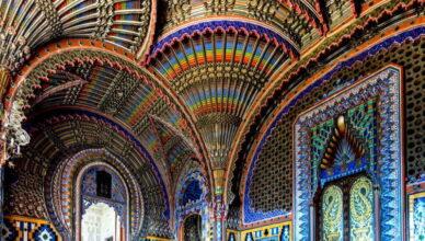 7 самых потрясающих потолков в мире
