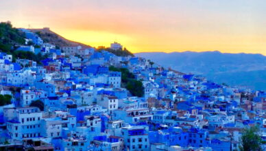 «50 оттенков» синего: путешествие в Шефшауэн, Марокко