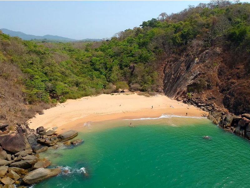 Самые маленькие пляжи в мире