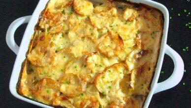 Запеканка с картофелем и сливками, рецепты