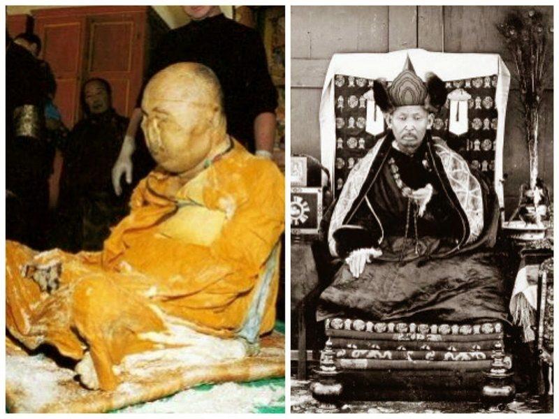 Мумия буддийского монаха