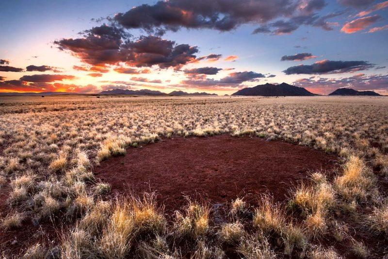 Загадочные круги Намибии