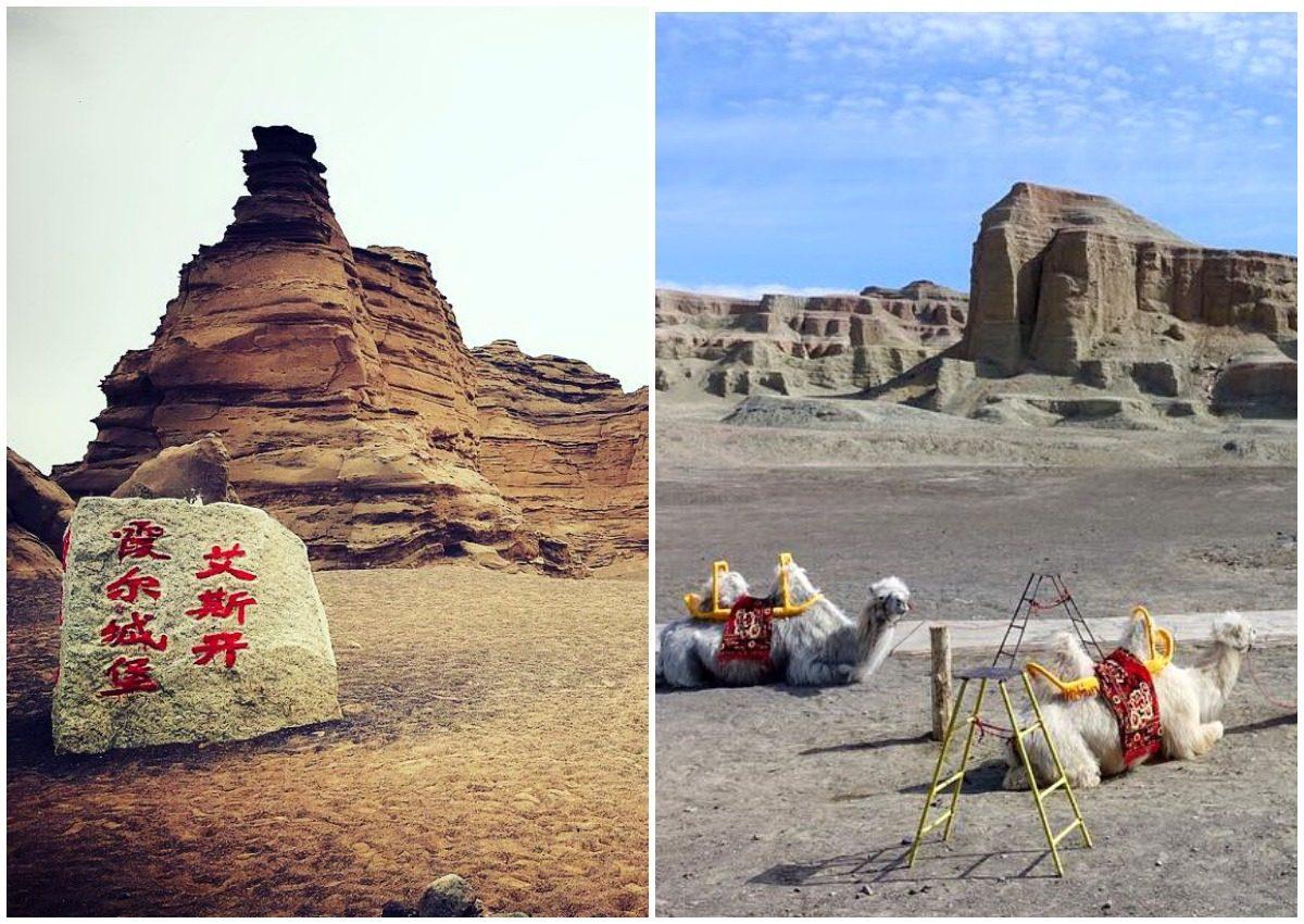 Призрачный город пустыни Mogui Cheng