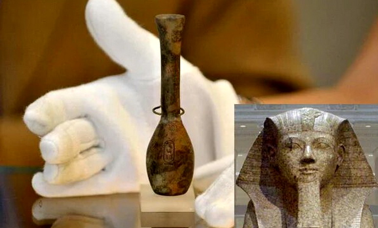 Забытая царица Египта и темная тайна флакона Хатшепсут