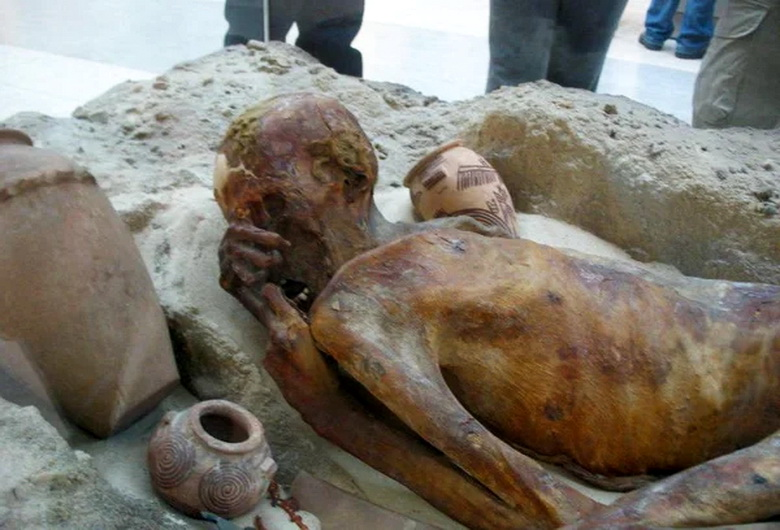 Таинственные рыжеволосые мумии