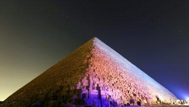 Сканирование Великой пирамиды Египта