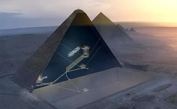 Сканирование Великой пирамиды Египта показывает «впечатляющую» аномалию