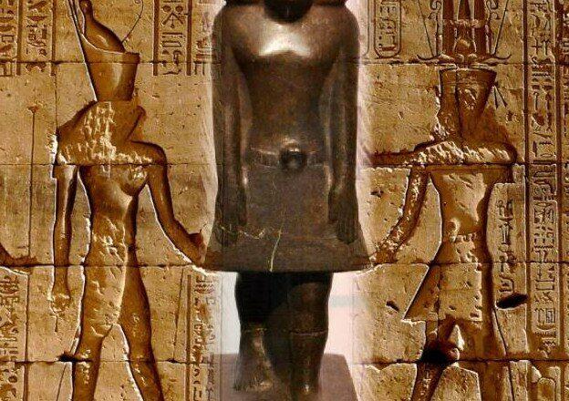 тайна ожившей статуи Древнего Египта