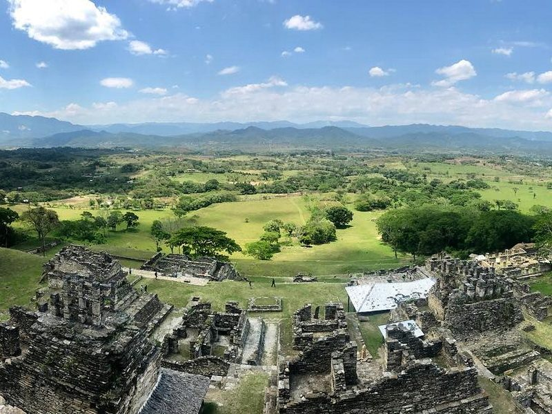 пирамида майя Тонина Чьяпас
