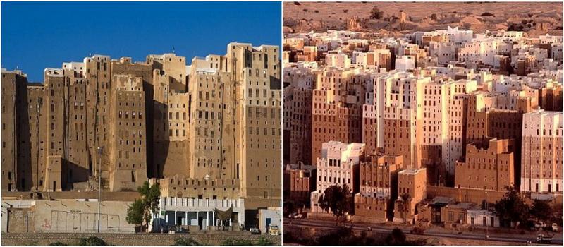 Шибам — город глиняных небоскребов в пустыне