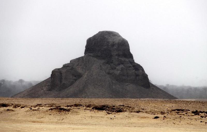 Черная пирамида Дашура и большая ошибка фараона Аменемхета III