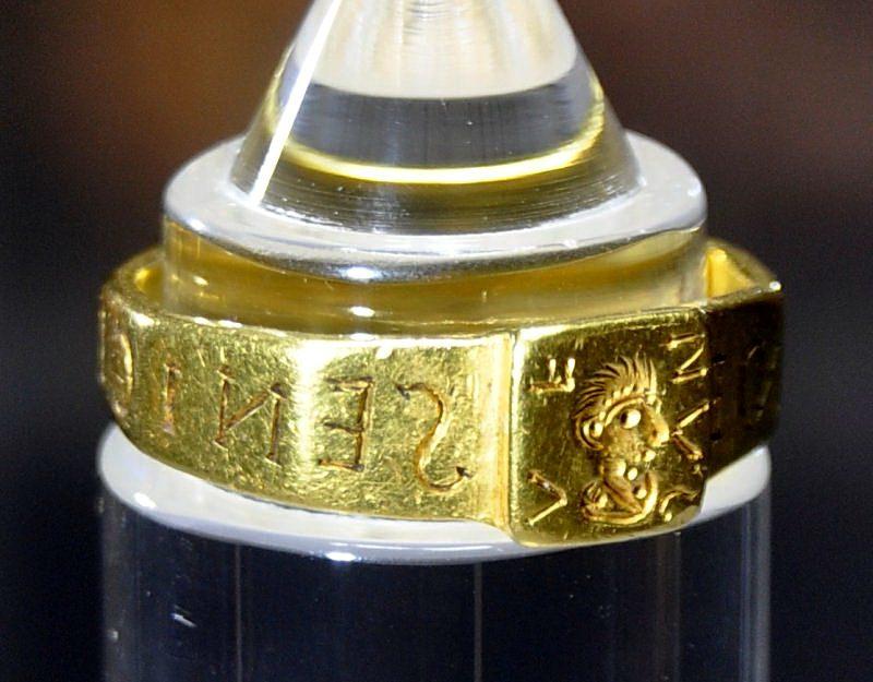 Кольцо, вдохновившее Толкина написать знаменитую эпопею о Хоббите