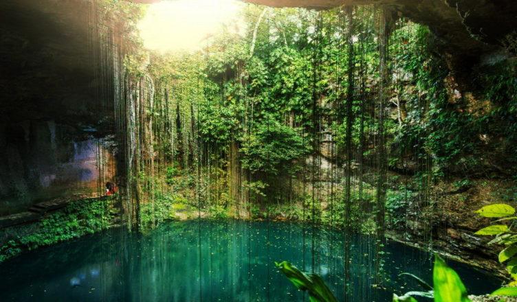 Сеноты — врата в подземный мир майя