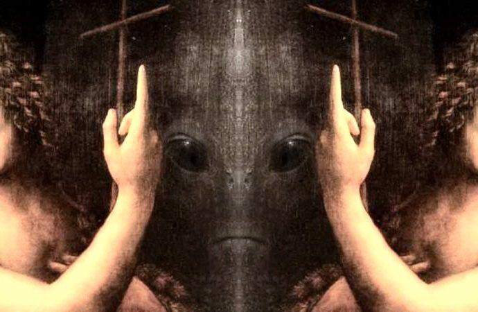 Закодированные изображения пришельцев в полотнах Леонардо да Винчи