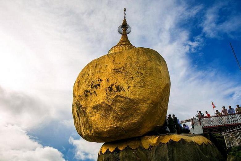 Пагода Чайттийо — загадка Золотой скалы Будды