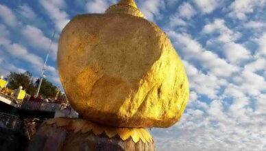 Пагода Чайттийо камень Будды