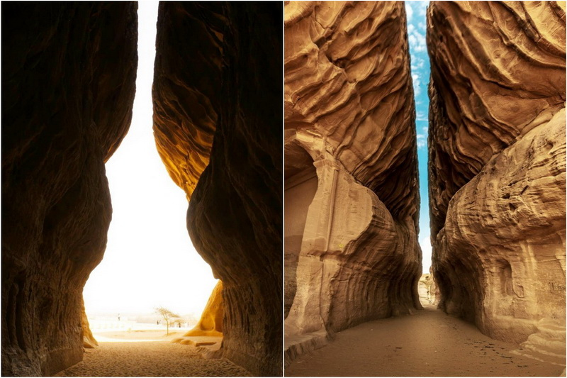 Каменные сооружения в Аль-Хиджре