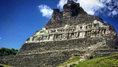 Потерянный город цивилизации майя Шунантунич