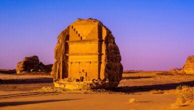 Мадаин-Салех — 111 вечных гробниц и памятников среди пустыни