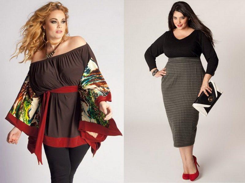 5 секретов стиля для полных женщин