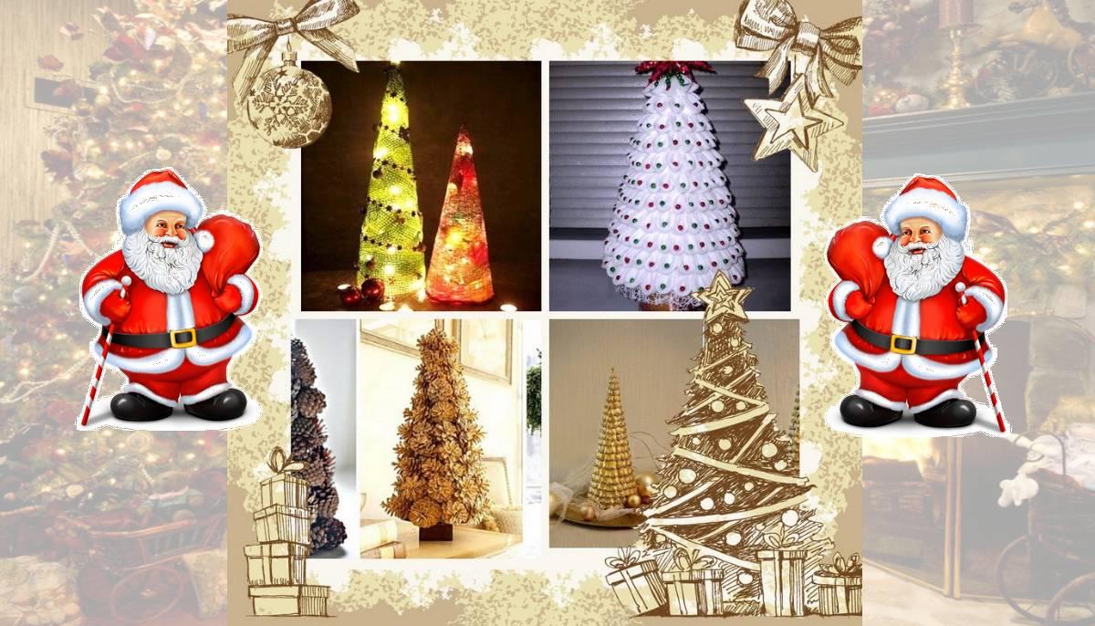 5 великолепных новогодних елок своими руками
