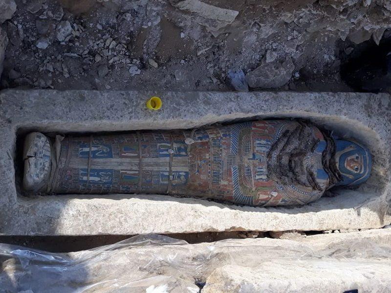 Египетская археологическая экспедиция открывает ряд новых захоронений в Дахшуре