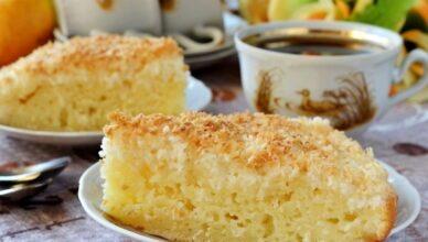 Датский кокосовый пирог