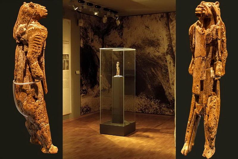 Доисторическая статуэтка Человеколев