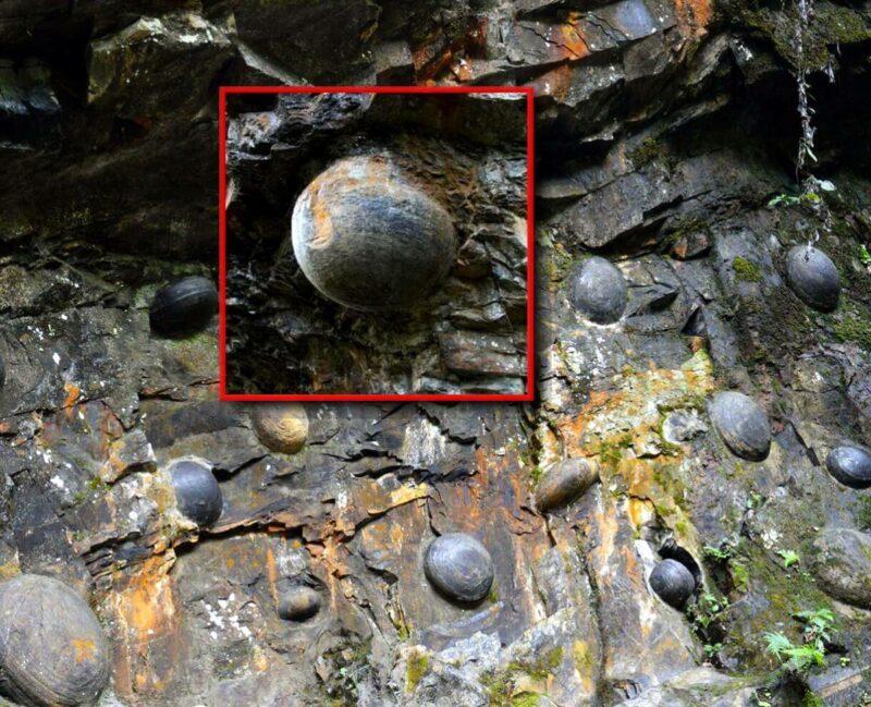 Загадочная гора, «несущая» каменные яйца