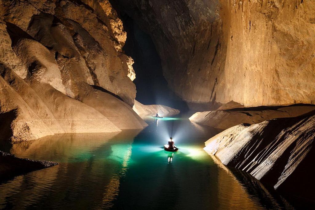 Пещерные реки Son Doong