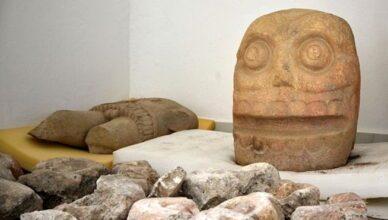 Храм ацтеков, посвященный «Властелину кожи»