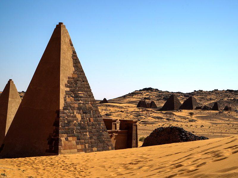 Забытые историей, тайны нубийских пирамид, которых больше, чем в Египте