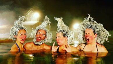 В Канаде проходит ежегодный Международный конкурс по заморозке волос