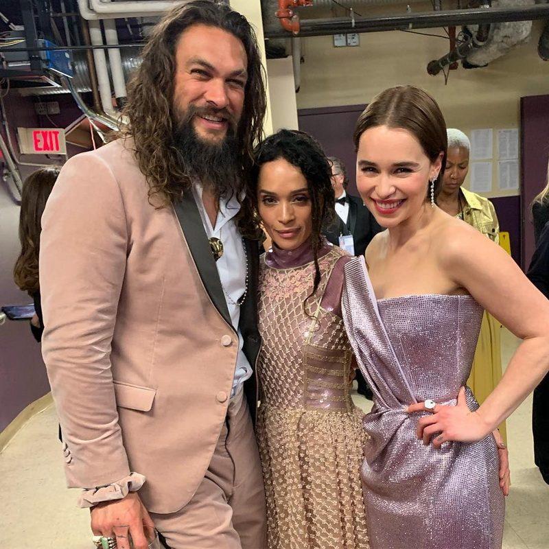 Дейенерис Таргариен и Кхал Дрого «воссоединились» на Оскаре 2019