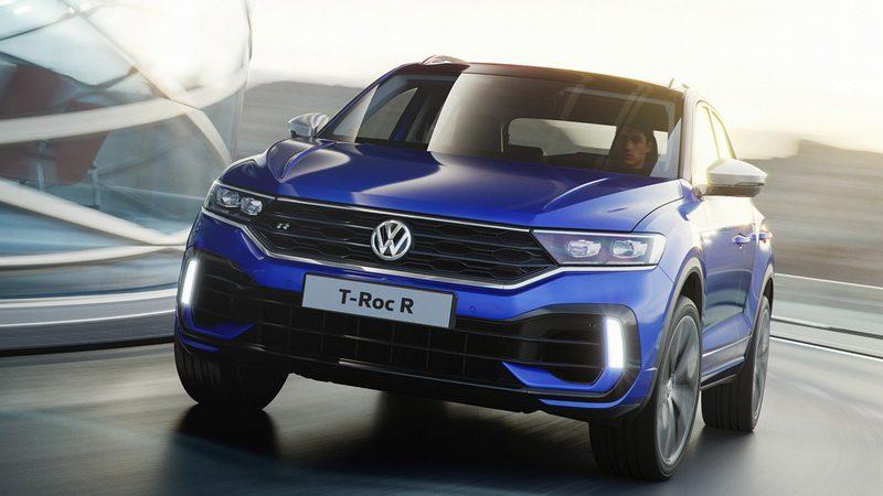 Volkswagen показал самый мощный кроссовер Volkswagen T-Roc R