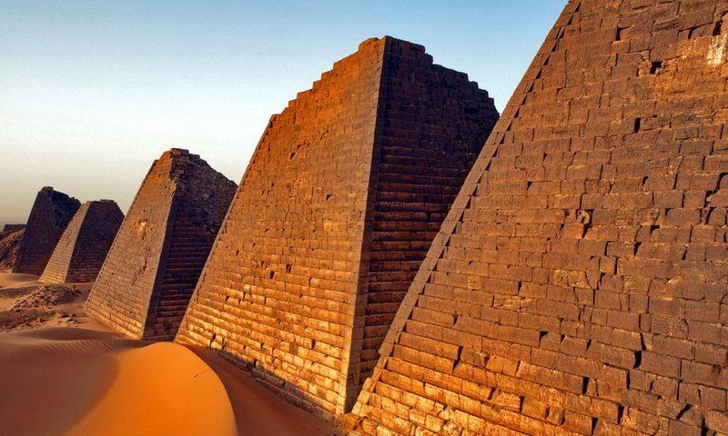 Забытые историей: тайны нубийских пирамид, которых больше, чем в Египте