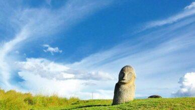 Загадочные доисторические каменные гиганты долине Бада