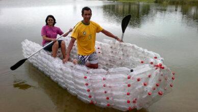 5 оригинальных способов использования пластиковых бутылок