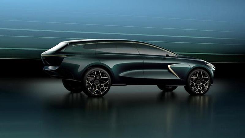 Внедорожный концепт Aston Martin Lagonda возвращает роскошную «наземную лодку»