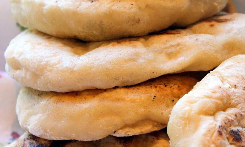 Постный турецкий хлеб БАЗЛАМА на кефире