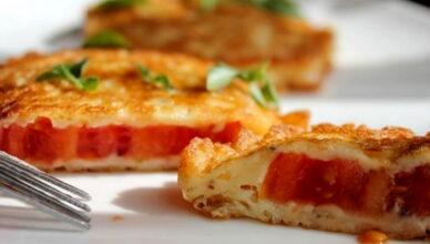 Великолепная закуска — Жареные помидоры в сырном кляре