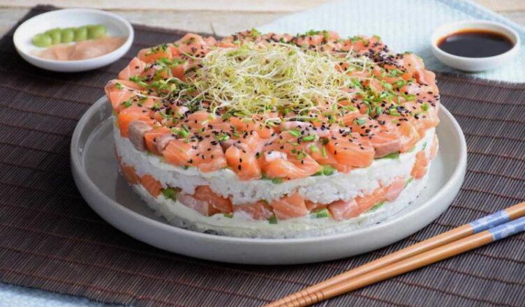 салат суши