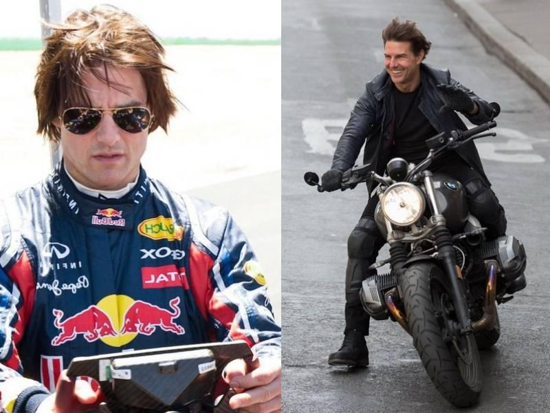 Знаменитости, влюбленные в скорость на гоночных трассах
