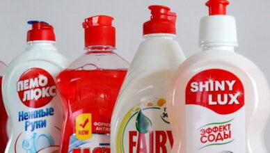 5 способов использования средства для мытья посуды